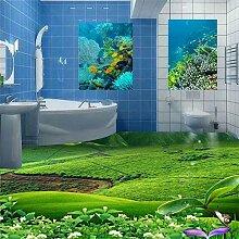 Stereo grün frische Grünland Badezimmer Fliesen