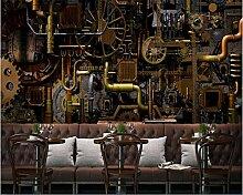 stereoskopische Motor Motor Getriebe Wandmalerei