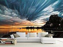 stereoskopische Tapete 3d anpassen Sunset light