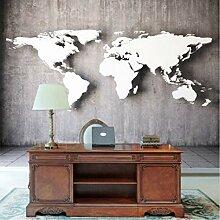 Stereoskopische Weltkarte Der Kundenspezifischen