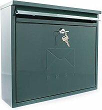 Sterling MB02G Elegance Briefkasten, grün