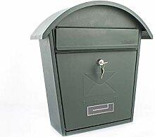 Sterling MB06 Klassischer Briefkasten, Grün