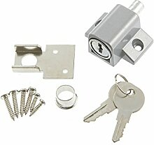 Sterling pdl100Terrasse Tür und Fenster Locks, Satin Nickel