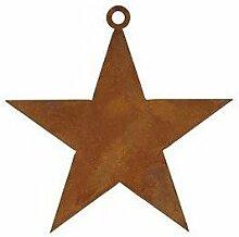 Stern 38cm Metall Rost Gartendeko Edelros