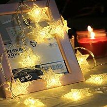 Stern-Lichterkette von BuycitKy mit 80 LEDs, 10,58