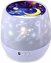 Stern-Nachtlichter für Kinder, rotierende Sterne,
