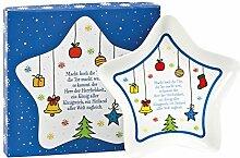 °* Stern-Weihnachtsteller in Geschenkbox
