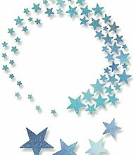 Sterne - Bildhauerei Metall Thinlits Schablonen (5
