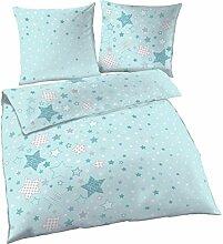 Sterne Fein Biber Mädchen Bettwäsche ☆ Stars