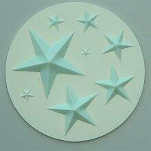 Sterne Silikonform Glasurformen Kuchen Und Cupcake Dekoration