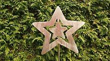 Sterne Weihnachts aus Edelstahl 120cm