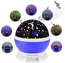 Sternenhimmel Projektor Lampe Kinder, LED