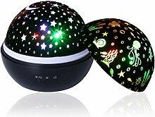 Sternenhimmel Projektor Nachtlicht, Supertech