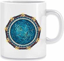 Sternenklar Tor Kaffeebecher Becher Tassen Ceramic