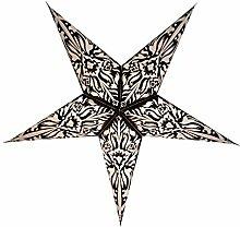Sternleuchte - Andel schwarz - aus Papier