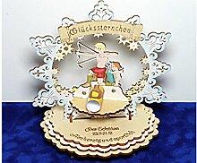 Sternzeichen Schütze - Geldgeschenk aus Holz - Geschenkidee zum Geburtstag