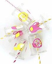 Stesha Party Pink Lemonade Partybecher 12 Stück