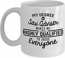 Steuerberater Kaffee-Haferl lustige Buchhaltung