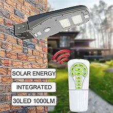 STHfficial 30 LED Solar Street Wandleuchte