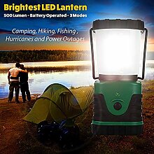 STHfficial COB Emergency Camping Laterne 500 Lumen