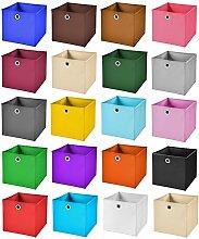 StickandShine 4er Set Rosa Faltbox 33 x 33 x 33 cm