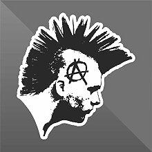 Sticker Anarchy Punkabbestia Gutter Punk - Decal
