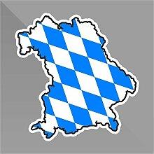 Sticker Baviera Bavaria Bavière Bayern - Decal