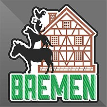 Sticker Brema Bremen Brême - Decal Cars