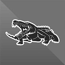 Sticker Coccodrillo Crocodile Cocodrilo Krokodil -