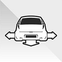 Sticker Fiat Punto - Decal Cars Motorcycles Helmet