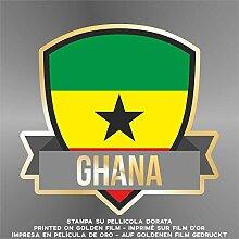 Sticker Ghana- Decal Cars Motorcycles Helmet Wall