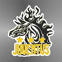 Sticker Juventus Zebra - Decal Cars Motorcycles