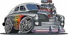 Sticker Kinder Auto Tuning OEM 3554(Maße des