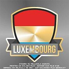 Sticker Lussemburgo Luxemburg Luxembourg