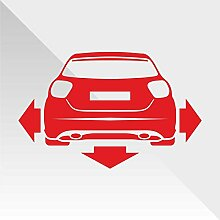 Sticker Mercedes Class A Rosso Red Rouge Rojo Rot