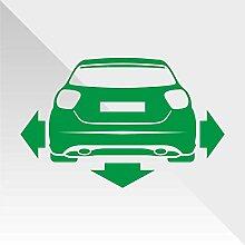 Sticker Mercedes Class A Verde Green Vert Grün