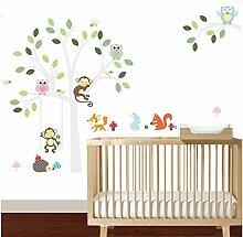 Sticker mural Wandaufkleber Kunst Kinder Bad Wc