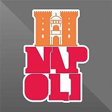 Sticker Napoli Naples Napoles Neapel - Decal Cars