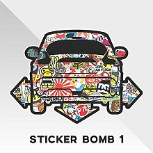 Sticker Nissan Juke Sticker Bomb Down and Out DUB