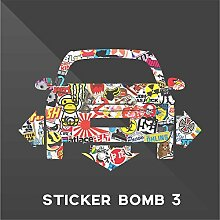 Sticker Opel Vauxhall Adam Sticker Bomb Down and