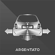 Sticker Opel Vauxhall Corsa Argento Silver Argent