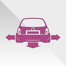 Sticker Opel Vauxhall Corsa Viola Purple Violet