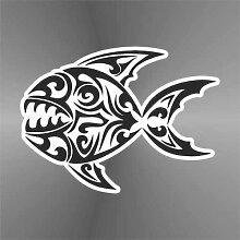 Sticker Piranha Serrasalminae - Decal Cars