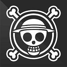 Sticker Pirata Pirate One Piece - Decal Auto Moto