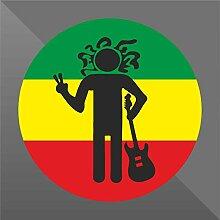 Sticker Reggae Music Decal - Decal Cars