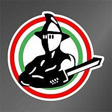 Sticker Roma Gladiatore Gladiator Rome - Decal