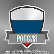 Sticker Russia Russie Rusia Russland - Decal Cars