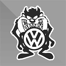 Sticker Tas VW Dub Jdm Funny - Decal Auto Moto