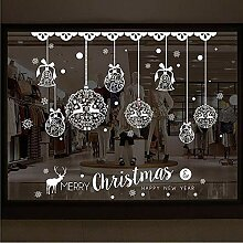 Sticker WandNeue Weihnachtsschaufenster
