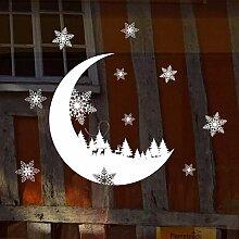 Sticker Wandals Dekorationen Für Zuhause Schnee